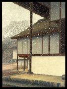 Katsura Imperial Villa in Snow (Kyoto)