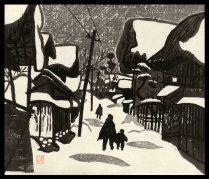 Winter in  Aizu