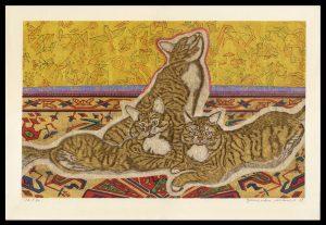 Three Cats Sekino