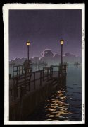 Harbor at Night, Otaru