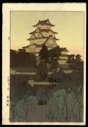 Himeji Castle, Evening