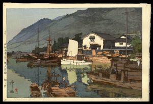 Harbor of Tomonoura Yoshida