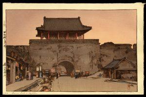 Dainan Gate in Mukden Yoshida