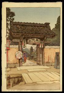 A Little Temple Gate Yoshida