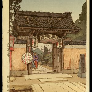 A Little Temple Gate Yoshida