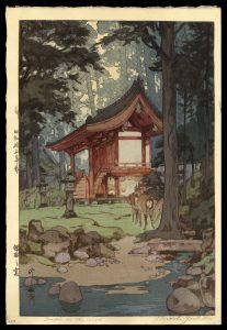 Temple in the Wood Yoshida