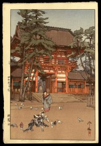 Gion Shrine Gate Yoshida