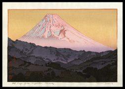 Mt. Fuji from Nagaoka - Morning