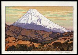 Mt. Fuji from Nagaoka – Cloud