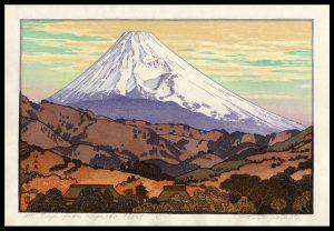Mt. Fuji from Nagaoka - Cloud Yoshida
