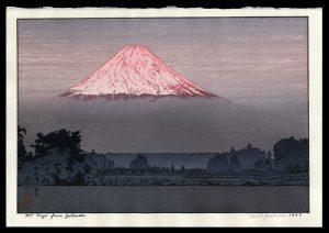 Mt. Fuji from Gotemba Yoshida