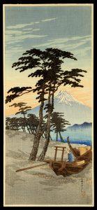 Mt. Fuji from Miho Hiroaki