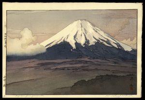 Fuji San from Yamanaka Yoshida