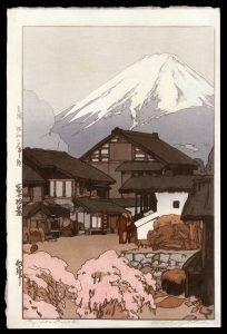 Fuji from Funatsu Yoshida