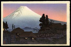 Fuji From Mizukubo
