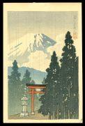 Mt. Fuji in the Rain