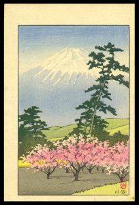 Mt. Fuji and Suzukawa Hasui