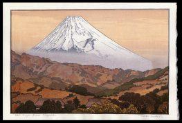 Mt. Fuji from Nagaoka