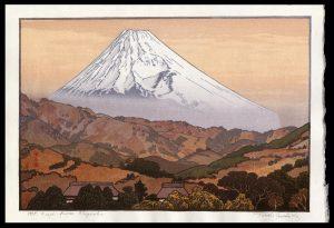 Mt. Fuji from Nagaoka Yoshida