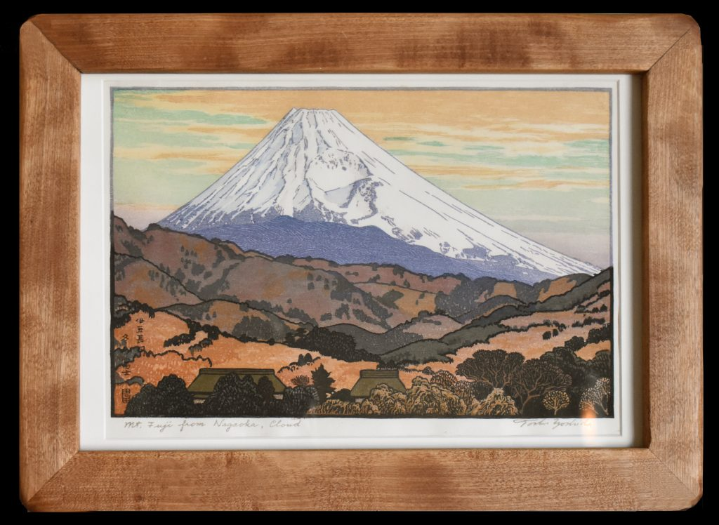 Mt. Fuji from Nagaoka – Cloud – Framed