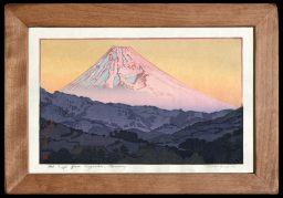 Mt. Fuji from Nagaoka – Morning – Framed